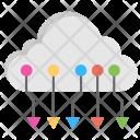 Circuit Cloud Icon