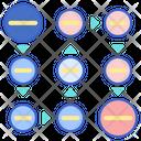Circular Bending Process Icon