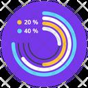 Circular Chart Pie Chart Circular Graph Icon