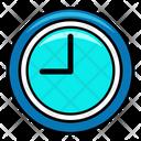 Circular Clock Icon