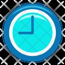 Circular Clock Wall Clock Clock Icon