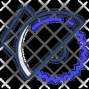 Ci Circular Cutter Cutting Saw Icon