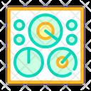 Circular Field Color Icon
