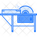 Circular Saw Board Icon