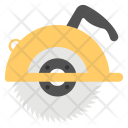 Electric Saw Circular Icon