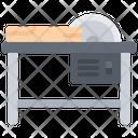 Circular Saw Table Icon