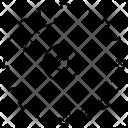 Circular Blade Saw Icon
