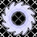 Circular Saw Saw Blade Chop Saw Icon