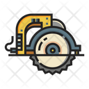 Circular Saw Saw Handtool Icon