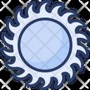Circular Saw Blade Round Disk Icon
