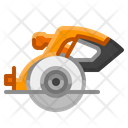Circular Saw Machine Icon