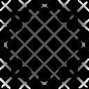 Circular shape frame Icon