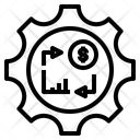 Circulation Turnover Reversion Icon