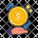 Circulation Money Finance Icon