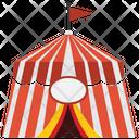 Circus Tent Entertainment Icon