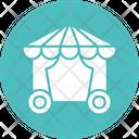 Circus Circus Cage Circus Car Icon