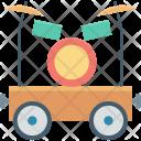 Circus Car Cart Icon