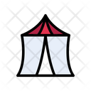 Circus Tent Camp Icon