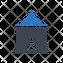 Circus Tent Outdoor Icon