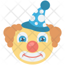 Circus Clown Fun Icon