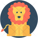 Circus Lion Animal Icon