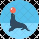 Circus Seal Show Icon