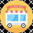 Circus Wagon Car Icon