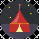 Circus Tent Amusement Icon