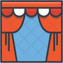 Circus Theater Stage Icon