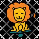 Lion Cirus Animal Icon