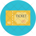 Circus Ticket Pass Icon