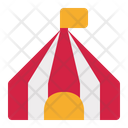 Circus Tent Show Icon
