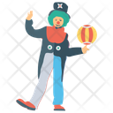 Juggler Tricks Clown Clown Performance Icon