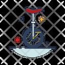 Circus Bike Icon