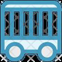 Circus Cage Circus Train Car Circus Icon