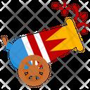 Circus Cannon Cannon Circus Carnival Icon