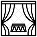 Circus Curtains Icon