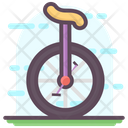 Circus Cycle Clown Bike Clown Cycle Icon