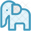 Animal Show Circus Elephant Animal Icon