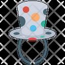Top Hat Juggler Hat Clown Juggler Icon