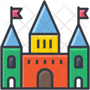 Circus House Building Icon