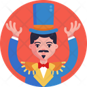 Circus Performer Hat Circus Icon