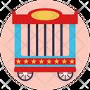 Wheel Prop Circus Icon