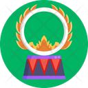 Ring Flame Circus Icon