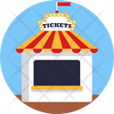 Shop Circus Tent Tickets Icon
