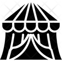 Circus Tent Carnival Canopy Icon