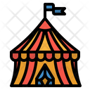 Circus Tent Fancy Icon