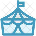 Tent Circus Guest Tent Icon