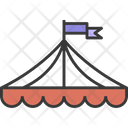 Circus Tent Carnival Circus Tent Icon