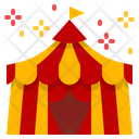 Circus Carnival Festival Tent Cabaret Show Icon